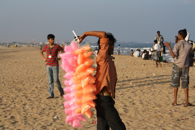 Beach Vendors Marina Beach