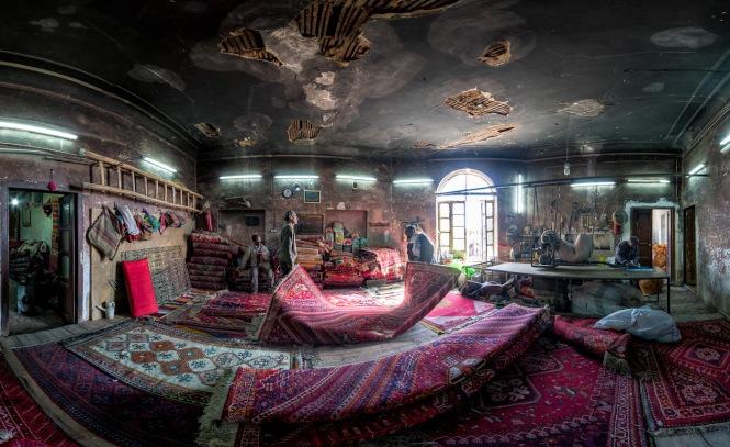 Carpet Repair Workshop