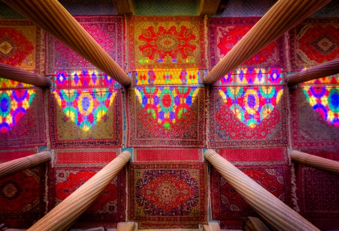 Columns, Carpets , Colors and the Light