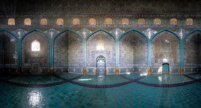 Sheikh lotfollah mosque panorama